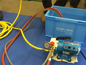 エアコン用高圧洗浄機