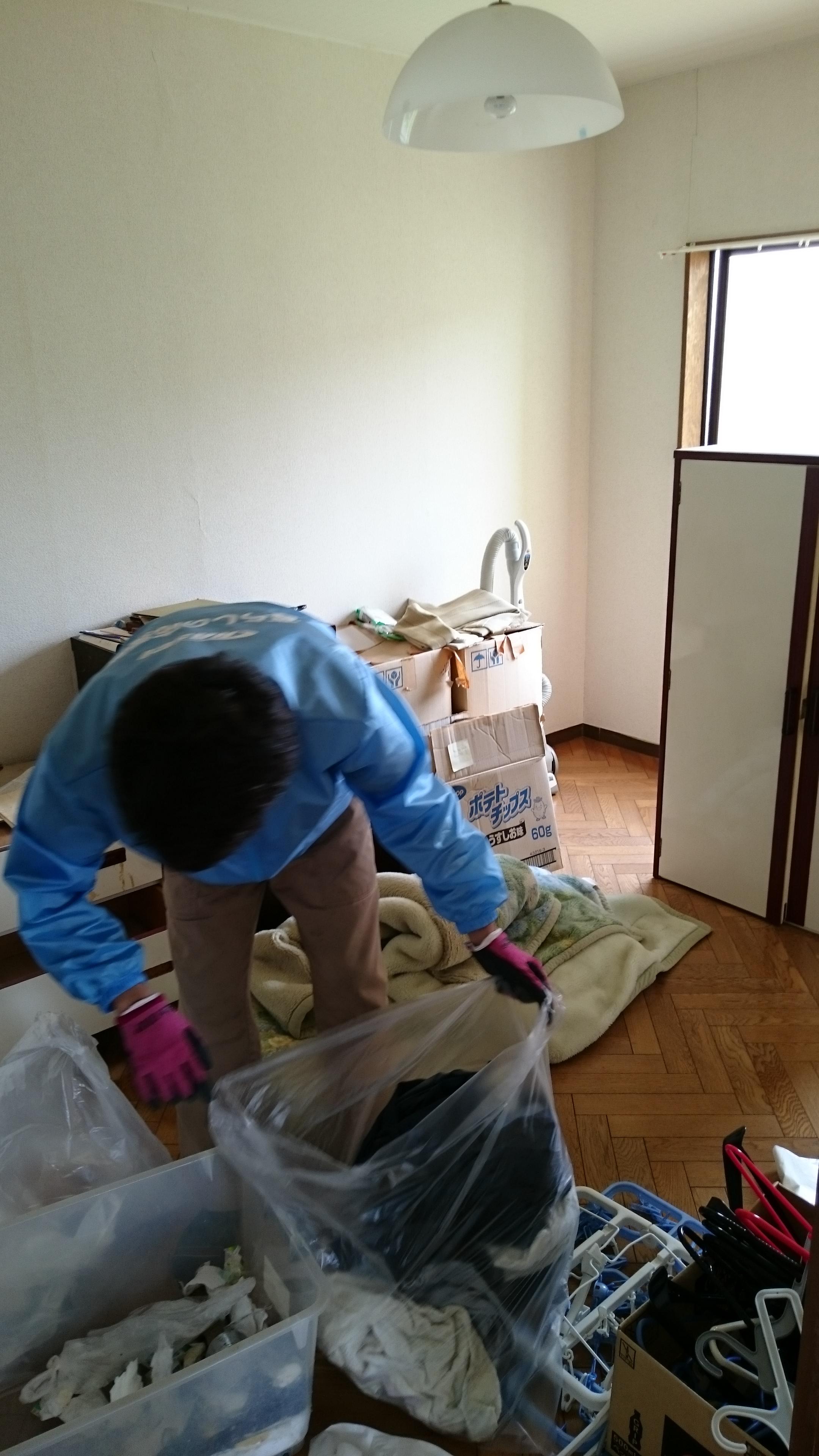 お部屋の不用品まるごと整理・片付け