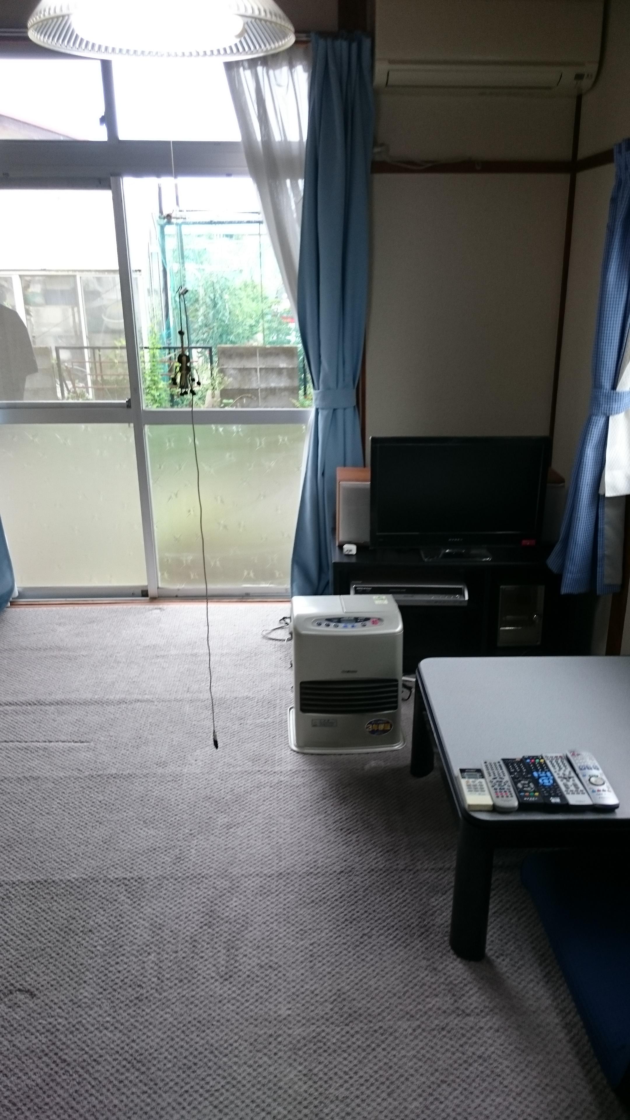不用品も片付き整理整頓されたお部屋