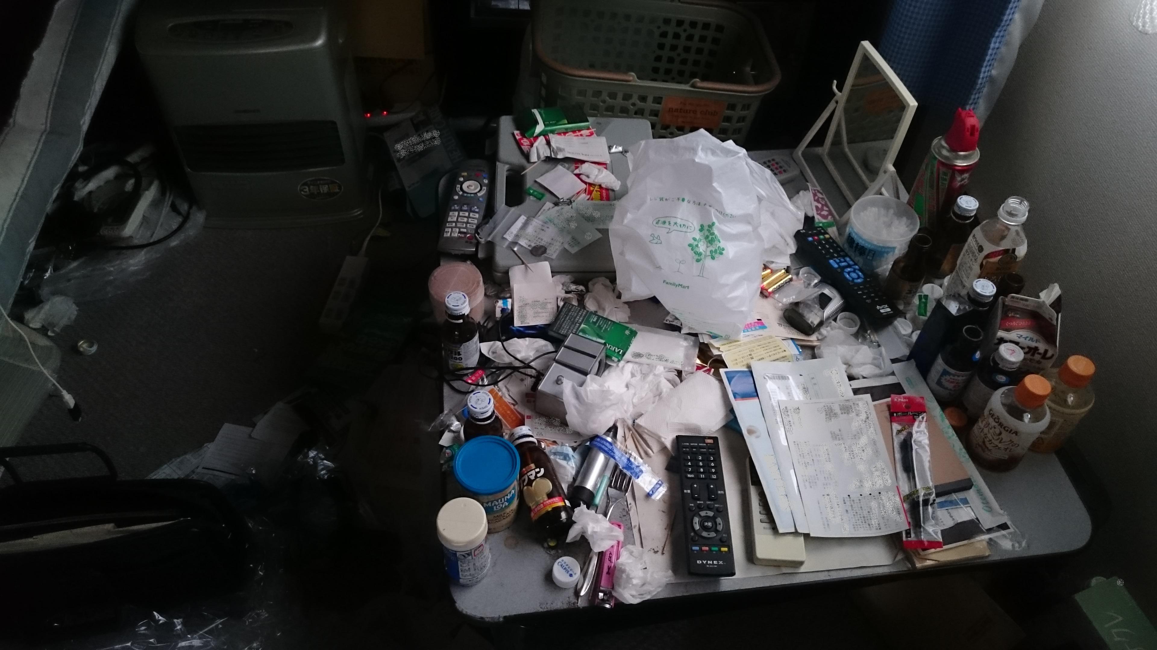 便利屋仙台 汚部屋の清掃