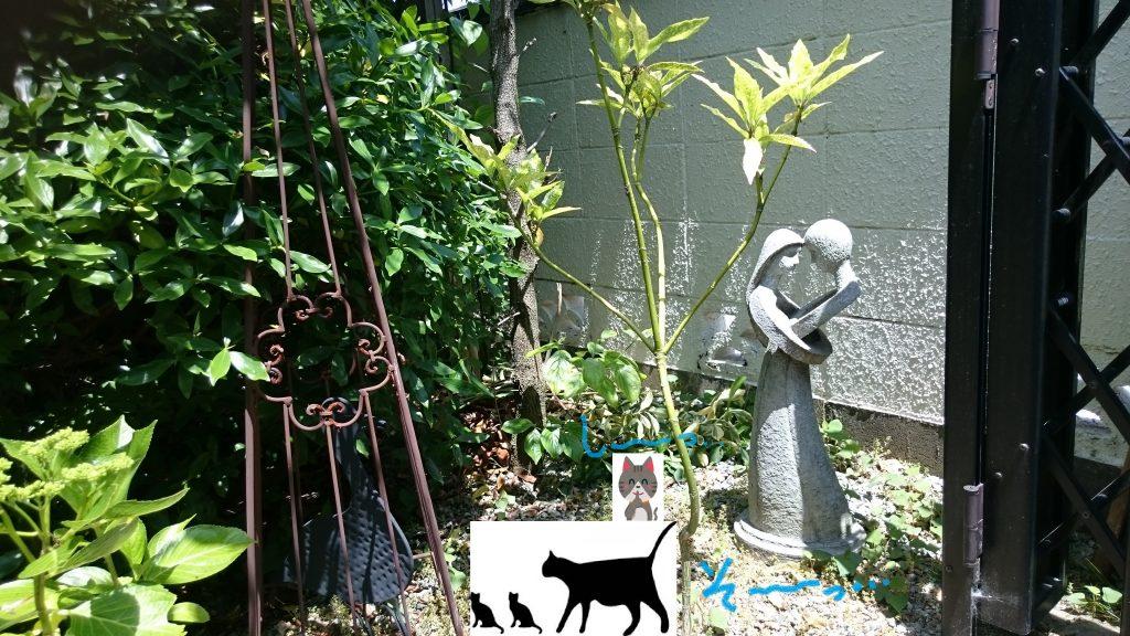 庭のオブジェ