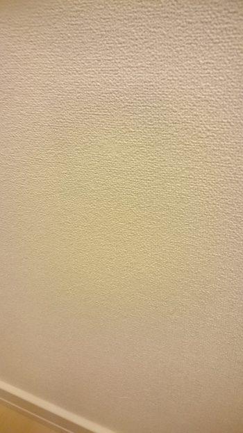 壁の傷の補修後